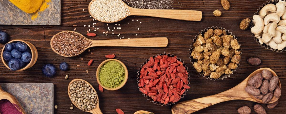 superfoods & nutrient rich herbs