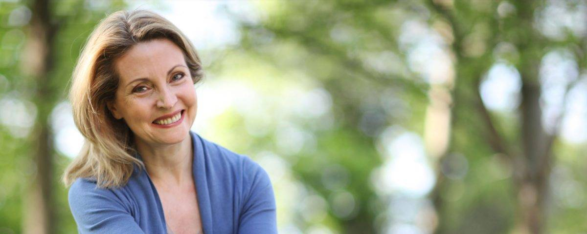 woman undergoing perimenopause